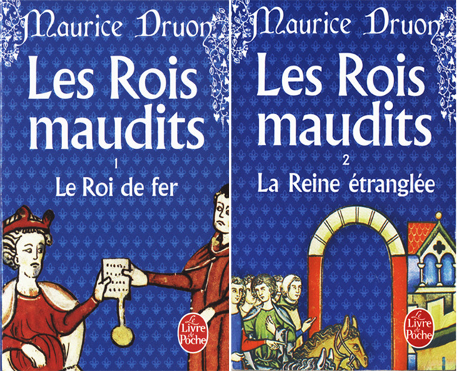 tome1 et 2 des Rois Maudits